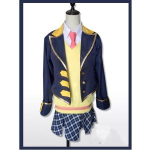 気質キャンパススタイルプリパラコスプレ衣装中学生