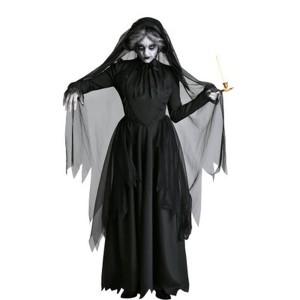 新しいダークシリーズ女性の幽霊の花嫁衣装ハロウィンステージ衣装