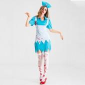 人気のあるクラシックメイドコスプレ衣装ハロウィン