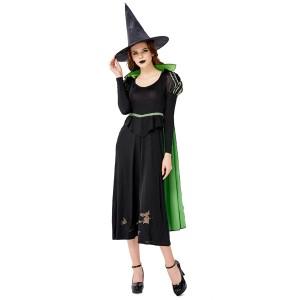 黒い悪魔法使い 衣装ステージパフォーマンスハロウィン