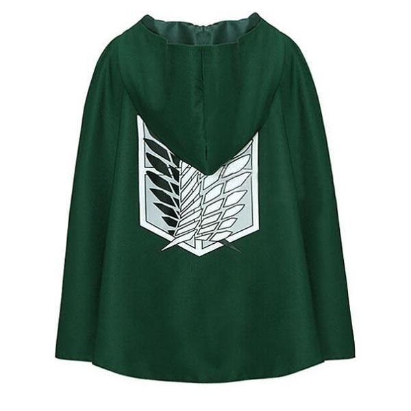 緑色安いロングマントマントcosplay衣装