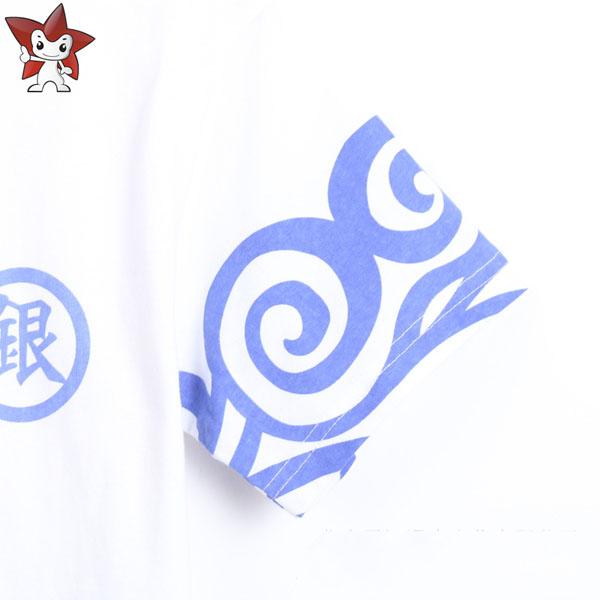 シンプルなスタイル銀魂コスプレTシャツ
