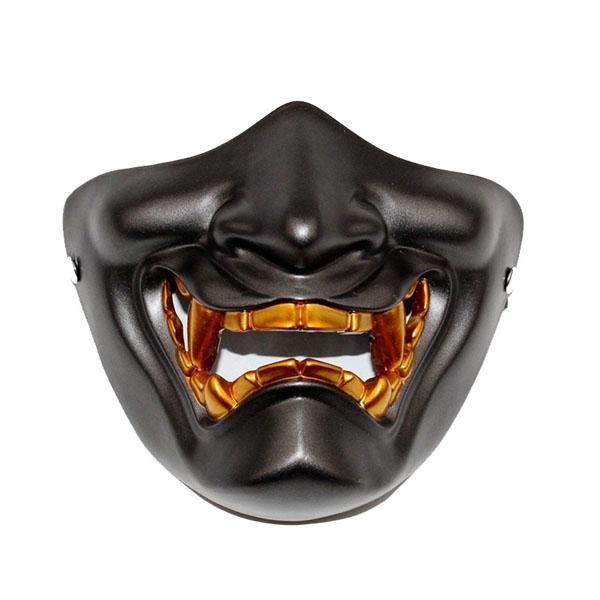 らいはんにゃ恐ろしいハーフフェイス仮面